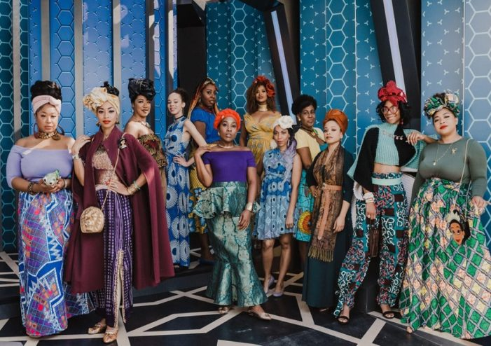 How 14 Black women seized Disneyland in African wear