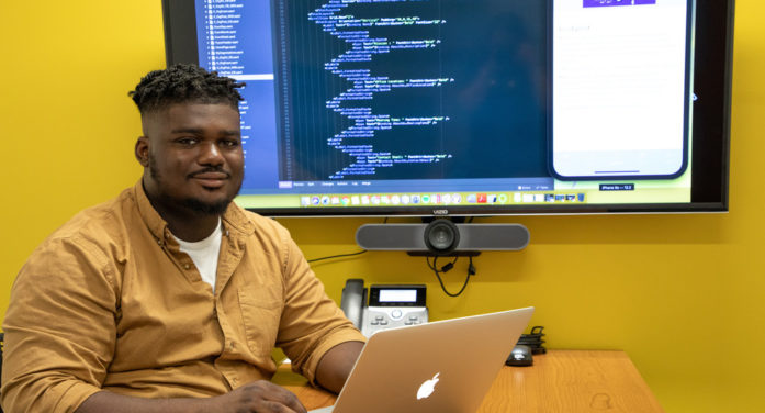 IST student creates app to help underrepresented students find a community