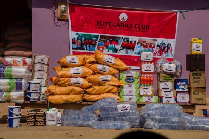Elite Ladies Club donates to Amadies Orphanage Home in Jacobu, Ashanti region