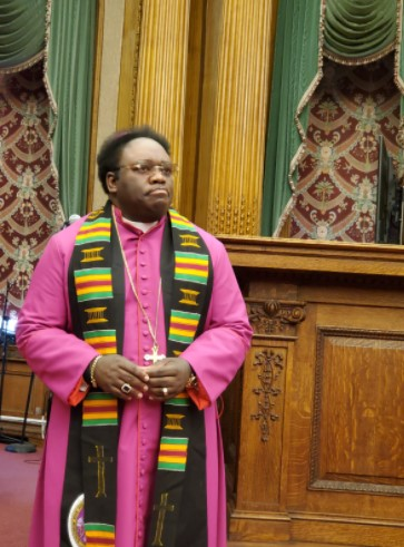 Bishop Dr. Amankwah Honored for Outstanding Contributions to the Ghanaian Community in New York